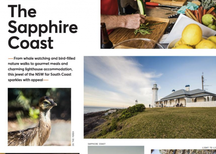We featured in the Sapphire Coast Ultimate Food Hit List